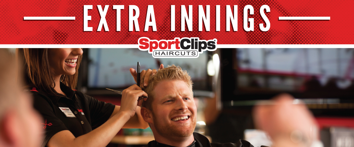The Sport Clips Haircuts of Festival Centre Extra Innings Offerings